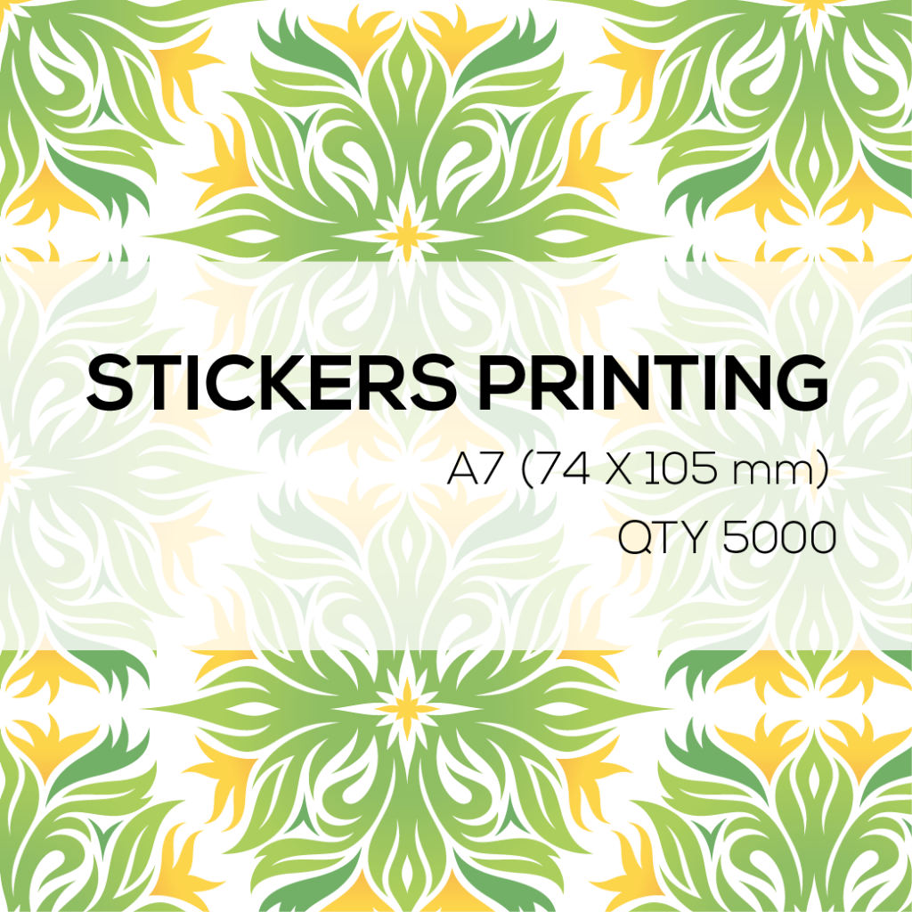 5000 Stickers A7 (74 x 105 mm)